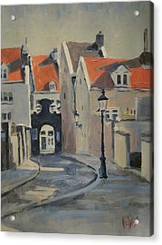 Paterspoortje Maastricht Acrylic Print