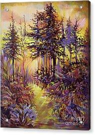 Path Of Illusions Acrylic Print by Anna  Duyunova
