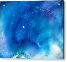 Path Of The Morning Star Acrylic Print by Lee Pantas