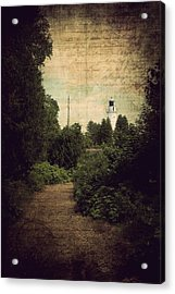 Path To Cana Island Lighthouse Acrylic Print