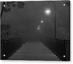Path To Darkness Acrylic Print