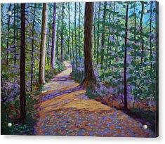 Path To Hubbards Farm Market Acrylic Print