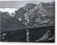 Acrylic Print featuring the photograph Path To Longs Peak by Dan Sproul