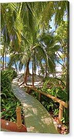 Path To Paradise Acrylic Print