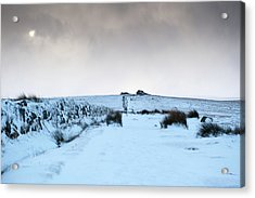 Path To South Hessary Tor II Acrylic Print