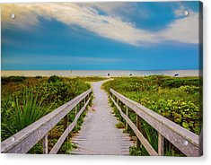 Acrylic Print featuring the photograph Path To The Sea by Steven Ainsworth