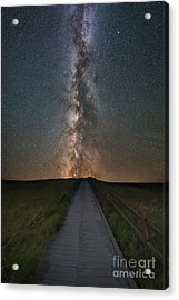 Path To The Stars  Acrylic Print