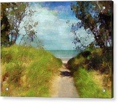 Path To Whihala Beach 2 Acrylic Print