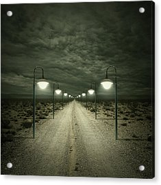 Path Acrylic Print by Zoltan Toth