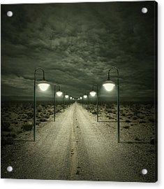 Path Acrylic Print