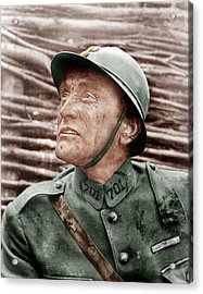 Paths Of Glory, Kirk Douglas, 1957 Acrylic Print