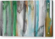 Patina- Abstract Art By Linda Woods Acrylic Print
