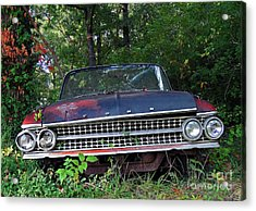 Patina On Route 66 Acrylic Print by Brenda Priddy