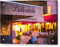 Patisserie - Paris Art Print Acrylic Print