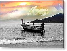 Patong Beach Acrylic Print