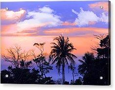 Patong Thailand Acrylic Print by Mark Ashkenazi