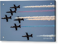 Patriot Aerial Demonstration Team Acrylic Print by Tommy Anderson