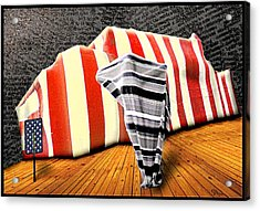 Patriot Sack Acrylic Print