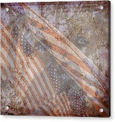 Patriotic Lab Acrylic Print