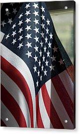 Patriotism Acrylic Print by Jerry McElroy