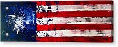 Patriot's Theme Acrylic Print