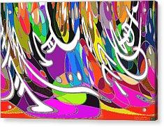 Pattern 205 _ Balance Acrylic Print