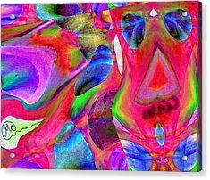 Pattern 246 _ Wow  Acrylic Print