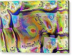 Pattern 268 _ Live Acrylic Print
