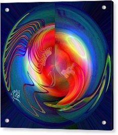 Pattern 279 _ Light Acrylic Print
