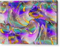 Pattern 285 _ United Acrylic Print
