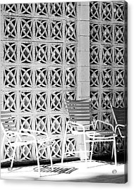 Pattern Recognition Palm Springs Acrylic Print by William Dey