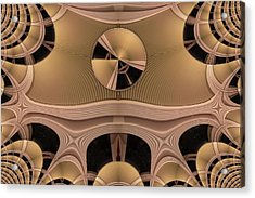 Acrylic Print featuring the digital art Pattern by Ron Bissett