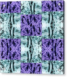 Ultra Violet  And Water  Acrylic Print
