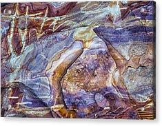 Patterns In Rock 3 Acrylic Print