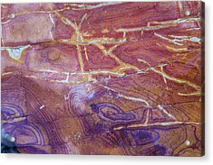 Patterns In Rock 6 Acrylic Print