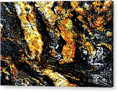 Acrylic Print featuring the photograph Patterns In Stone - 185 by Paul W Faust - Impressions of Light