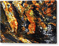 Acrylic Print featuring the photograph Patterns In Stone - 186 by Paul W Faust - Impressions of Light