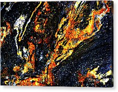Acrylic Print featuring the photograph Patterns In Stone - 187 by Paul W Faust - Impressions of Light