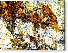 Acrylic Print featuring the photograph Patterns In Stone - 210 by Paul W Faust - Impressions of Light