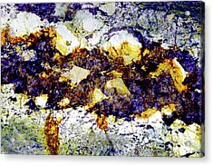 Acrylic Print featuring the photograph Patterns In Stone - 212 by Paul W Faust - Impressions of Light