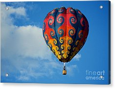 Patterns In The Sky Acrylic Print