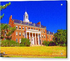 Patterson Hall  Acrylic Print