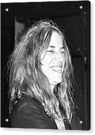Patti Smith 1 Acrylic Print