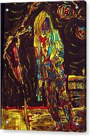 Patti Smith Acrylic Print by Gayland Morris