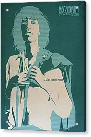 Patti Smith Acrylic Print