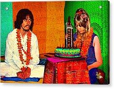 Pattie Boyd 24th Birthday Acrylic Print by Che Rellom
