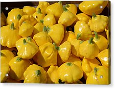 Patty Pan Squash Acrylic Print