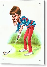Paul Azinger Acrylic Print by Harry West