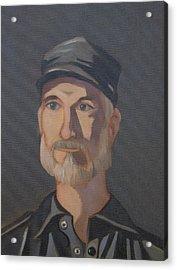 Paul Bright Portrait Acrylic Print