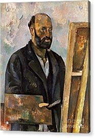 Paul Cezanne (1839-1906) Acrylic Print by Granger